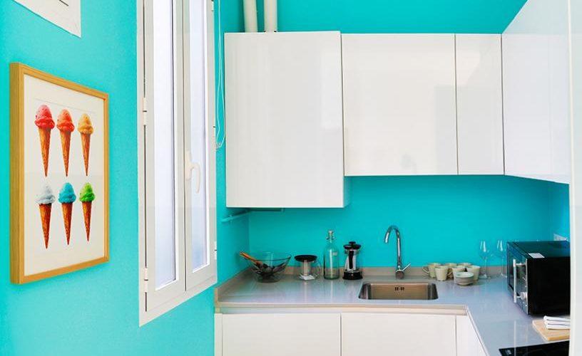 Cocina en apartamento un dormitorio 1 urbanvida la latina3