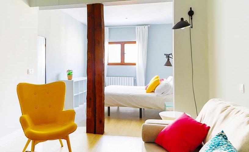 Habitacion en Estudio Loft 4.2 UrbanVida La Latina